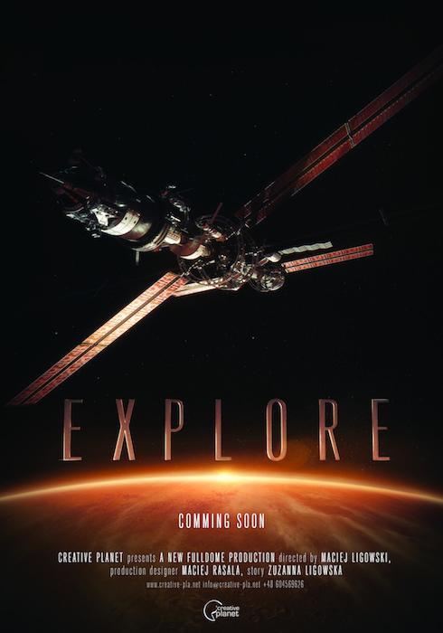 Filmato Fulldome Explore per Planetari Digitali