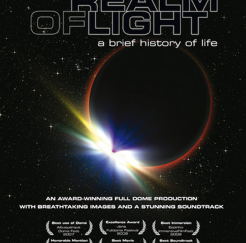 Filmato Fulldome Realm of Light per Planetari Digitali