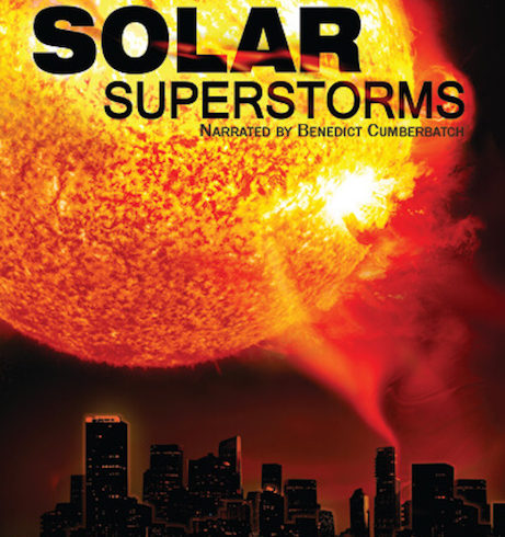 Filmato Fulldome Solar Superstorms per Planetari Digitali