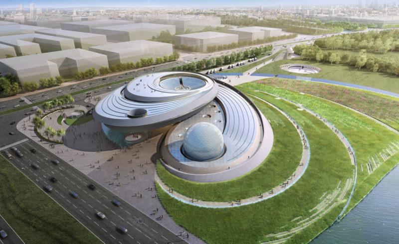 Nuovo Planetario di Shangai